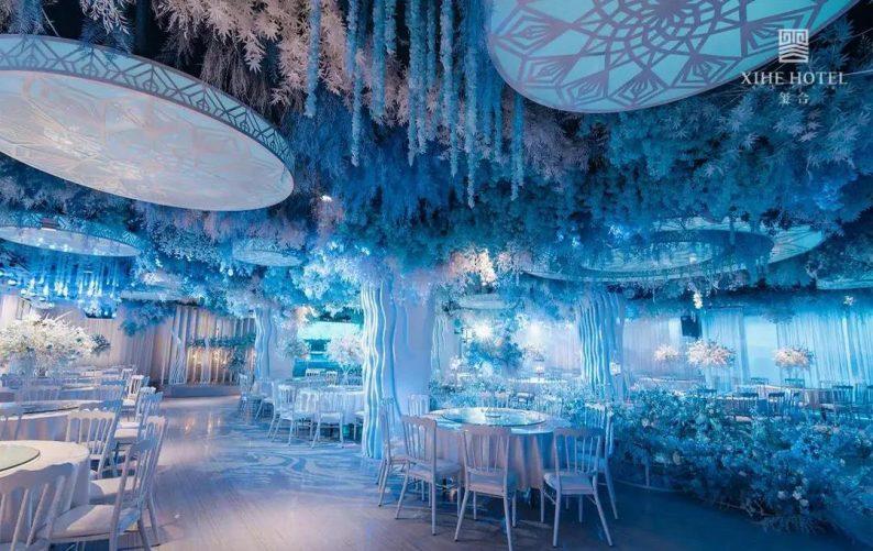 婚礼堂发布:假日酒店转型,三大艺术级主题宴会厅来了!  第9张