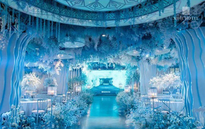 婚礼堂发布:假日酒店转型,三大艺术级主题宴会厅来了!  第10张
