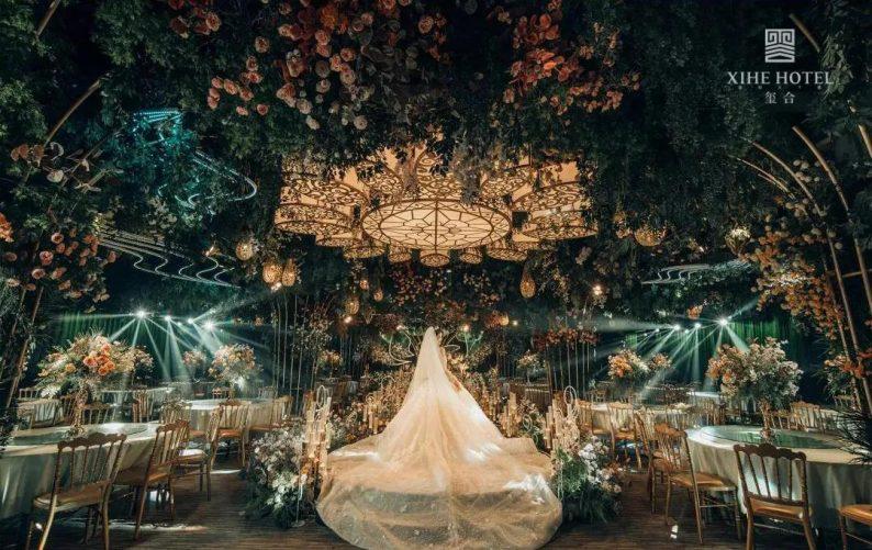 婚礼堂发布:假日酒店转型,三大艺术级主题宴会厅来了!  第12张