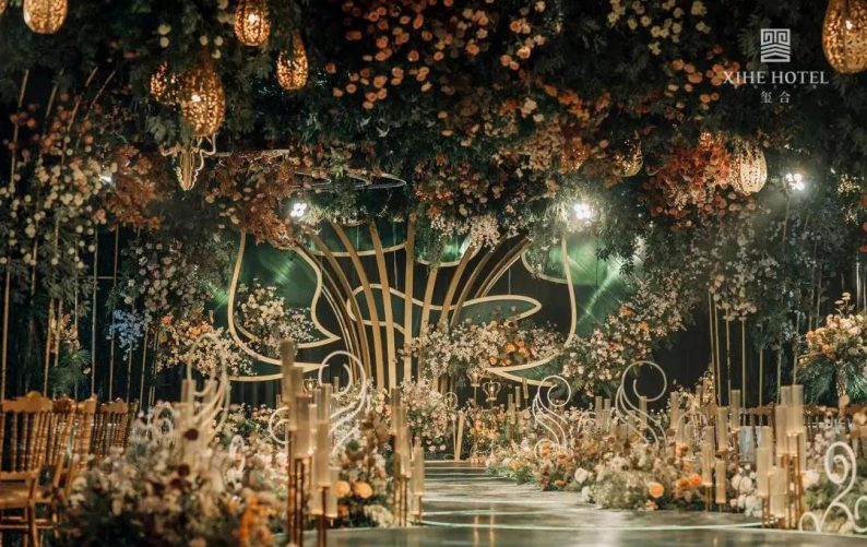 婚礼堂发布:假日酒店转型,三大艺术级主题宴会厅来了!  第13张