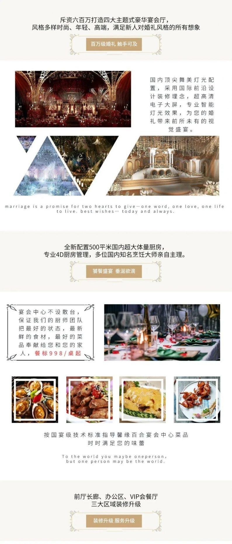 婚礼堂发布:斥资600万的四大主题宴会厅,12月荣耀问世  第4张