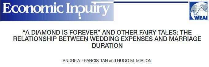 调查结果:婚礼越贵,离婚越快?  第2张