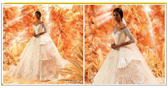 2020全新系列:迪拜土豪最爱的高级定制婚纱  第4张