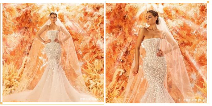 2020全新系列:迪拜土豪最爱的高级定制婚纱  第7张