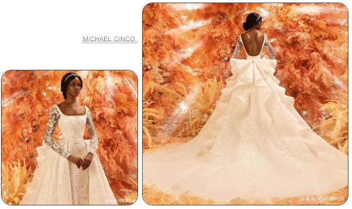 2020全新系列:迪拜土豪最爱的高级定制婚纱  第10张