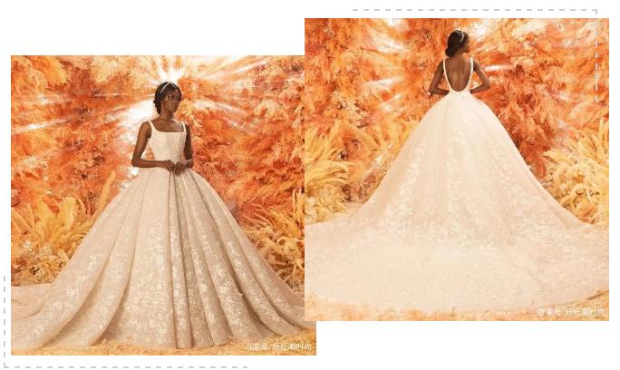 2020全新系列:迪拜土豪最爱的高级定制婚纱  第11张