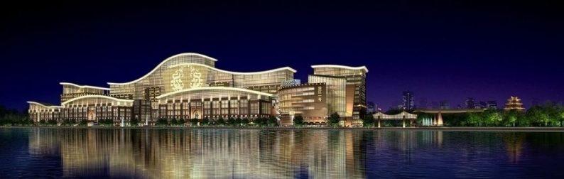 婚礼堂发布:3.2万平米!武汉首家一站式婚宴中心  第2张