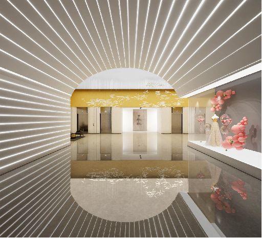 婚礼堂发布:3.2万平米!武汉首家一站式婚宴中心  第3张