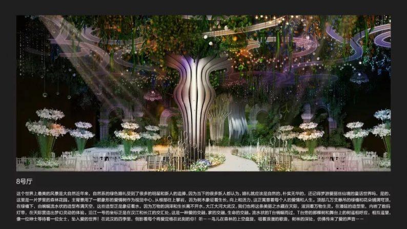 婚礼堂发布:3.2万平米!武汉首家一站式婚宴中心  第6张