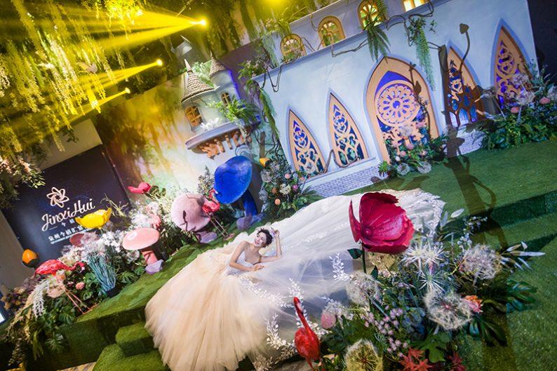 婚礼堂发布:6000㎡斥资百万,打造4大婚宴厅+园林婚礼  第9张