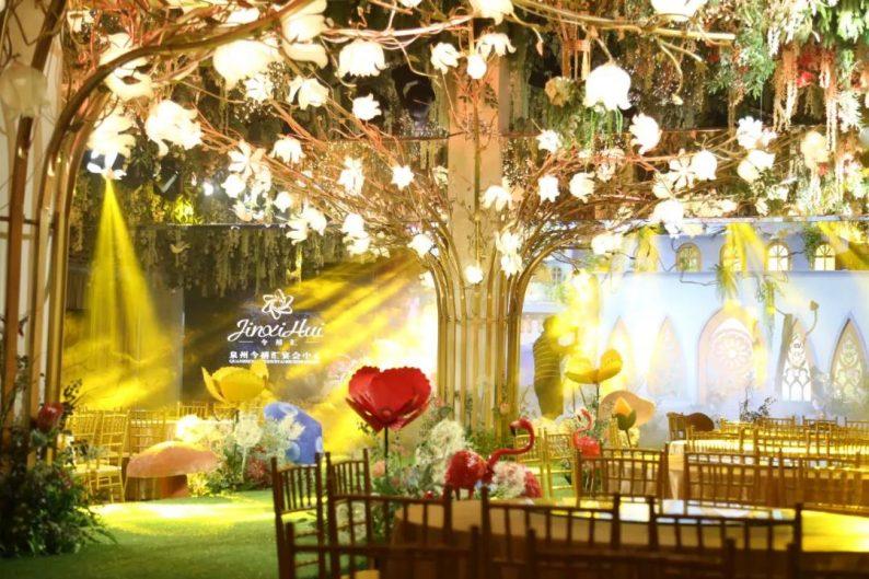 婚礼堂发布:6000㎡斥资百万,打造4大婚宴厅+园林婚礼  第6张