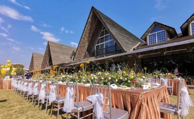 婚礼堂发布:6000㎡斥资百万,打造4大婚宴厅+园林婚礼  第1张