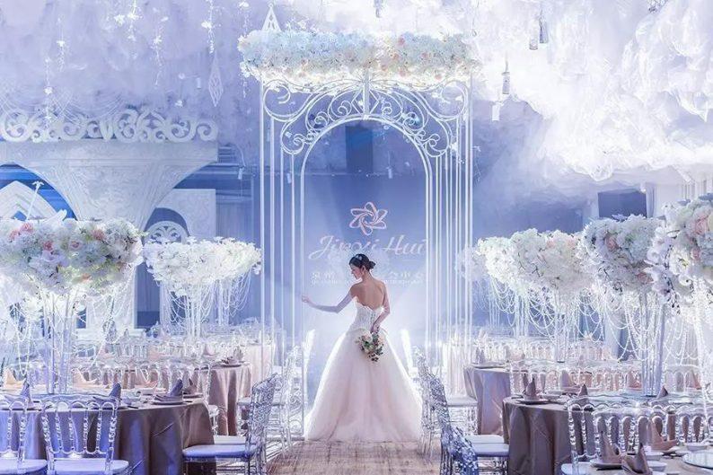 婚礼堂发布:6000㎡斥资百万,打造4大婚宴厅+园林婚礼  第2张