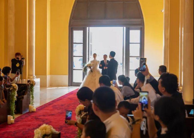 婚礼堂发布:9大独立殿堂!海花岛婚礼庄园迎来首场婚礼  第3张