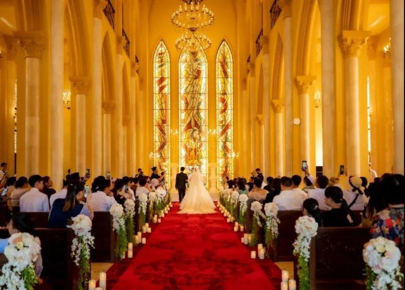 婚礼堂发布:9大独立殿堂!海花岛婚礼庄园迎来首场婚礼  第4张