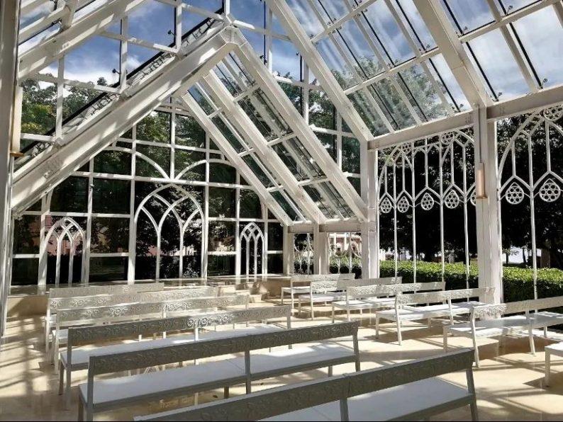 婚礼堂发布:9大独立殿堂!海花岛婚礼庄园迎来首场婚礼  第7张