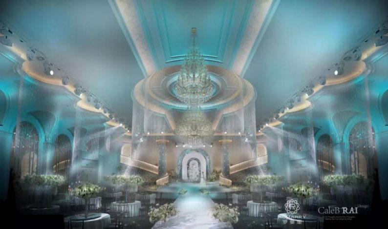 婚礼堂发布:赖梓愈倾心巨作!189小时打造百万宴会厅  第2张