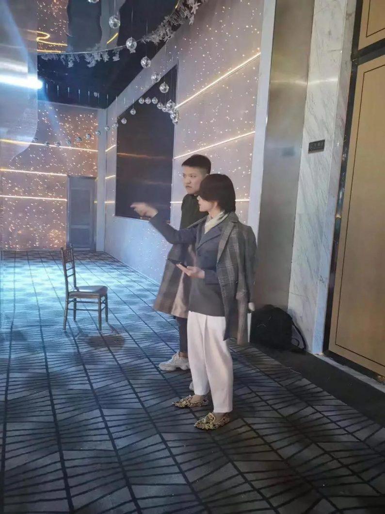 婚礼堂发布:赖梓愈倾心巨作!189小时打造百万宴会厅  第3张