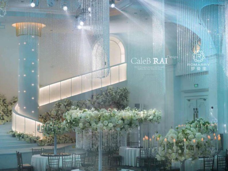 婚礼堂发布:赖梓愈倾心巨作!189小时打造百万宴会厅  第5张