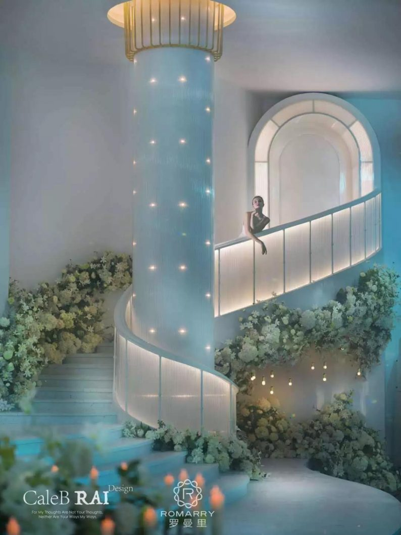 婚礼堂发布:赖梓愈倾心巨作!189小时打造百万宴会厅  第6张