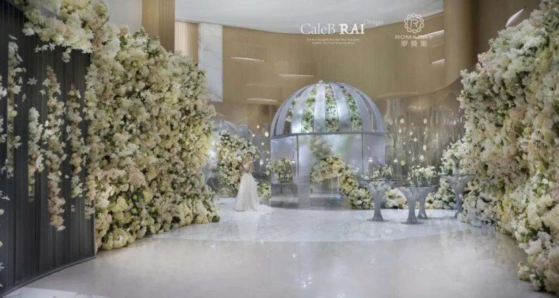 婚礼堂发布:赖梓愈倾心巨作!189小时打造百万宴会厅  第7张