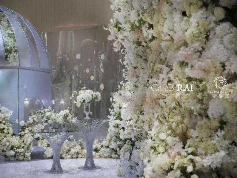 婚礼堂发布:赖梓愈倾心巨作!189小时打造百万宴会厅  第8张