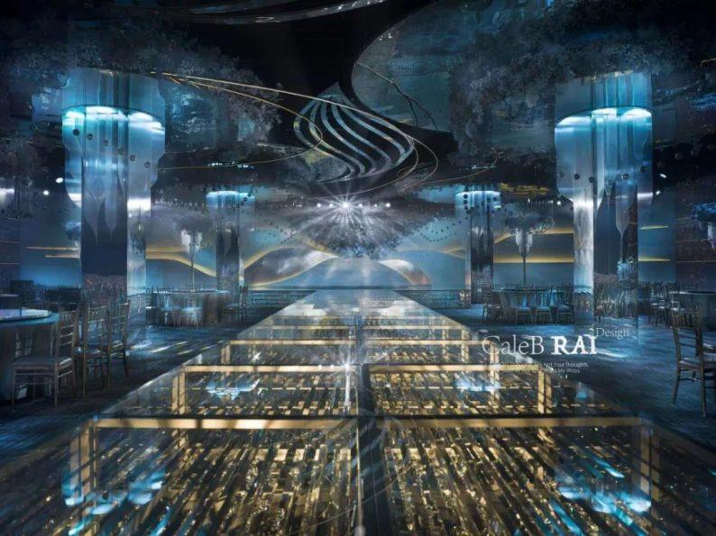 婚礼堂发布:赖梓愈倾心巨作!189小时打造百万宴会厅  第10张