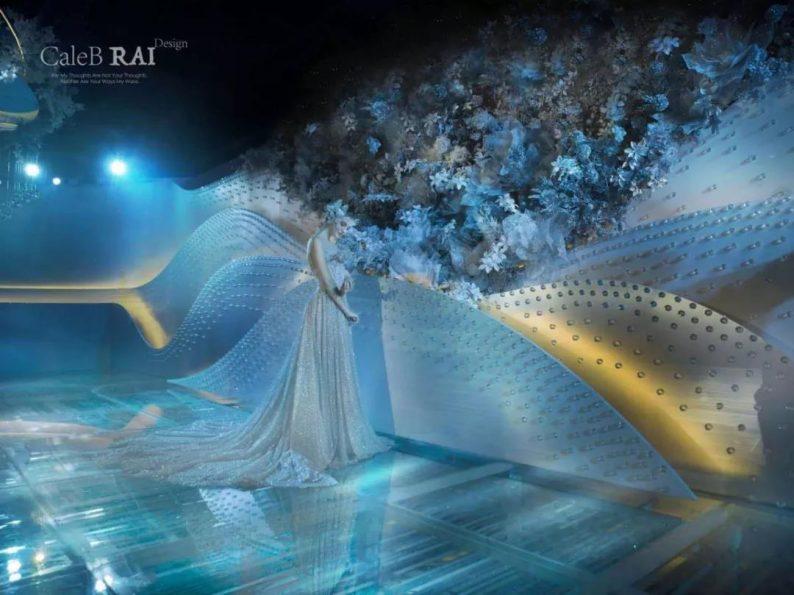婚礼堂发布:赖梓愈倾心巨作!189小时打造百万宴会厅  第11张