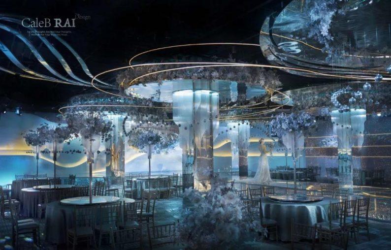 婚礼堂发布:赖梓愈倾心巨作!189小时打造百万宴会厅  第12张
