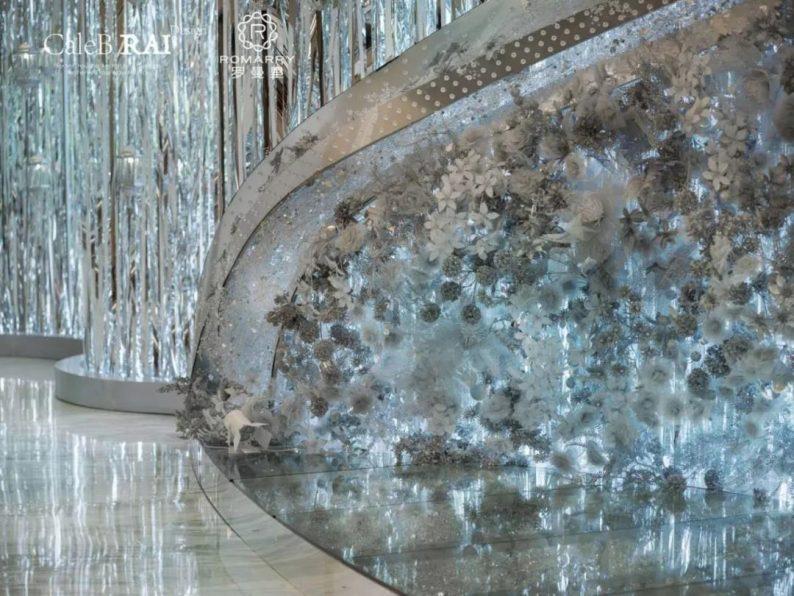 婚礼堂发布:赖梓愈倾心巨作!189小时打造百万宴会厅  第14张