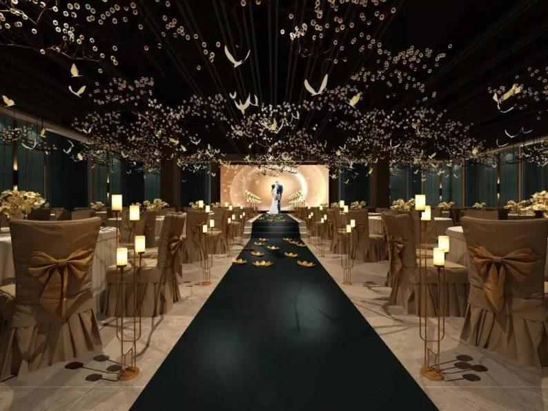 婚礼堂发布:紧邻网红打卡地,橘子洲头的5大特色主题宴会厅  第5张