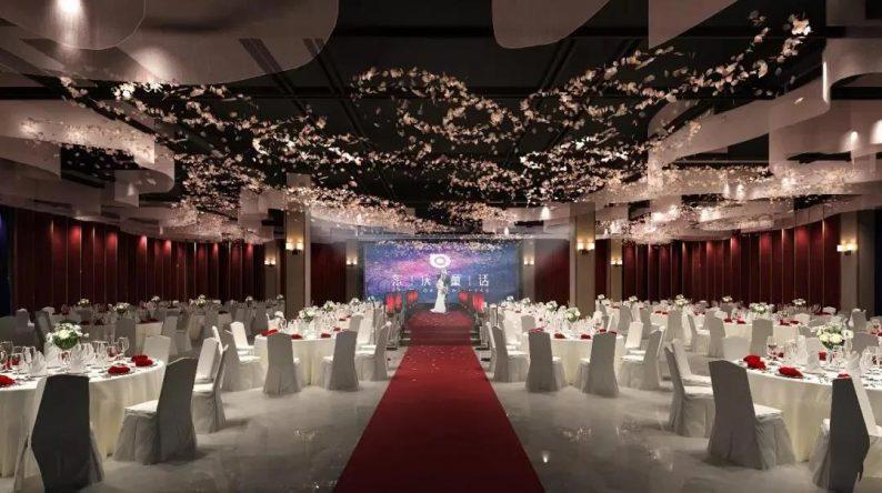 婚礼堂发布:紧邻网红打卡地,橘子洲头的5大特色主题宴会厅  第7张