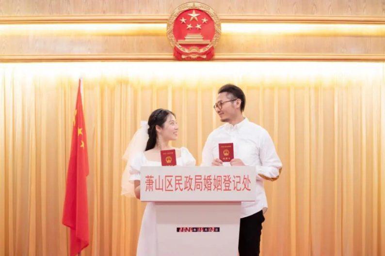 """""""十全十美""""日迎结婚潮!北京结婚登记3583对  第4张"""