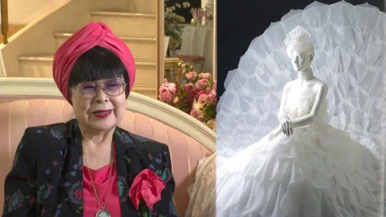 """88岁的""""万年少女""""!她一生只设计一种服装——婚纱  第16张"""