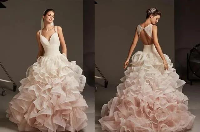 国宝级高定婚纱,西班牙Pronovias 2020系列  第3张