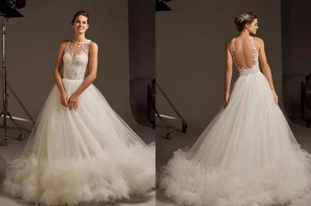 国宝级高定婚纱,西班牙Pronovias 2020系列  第4张