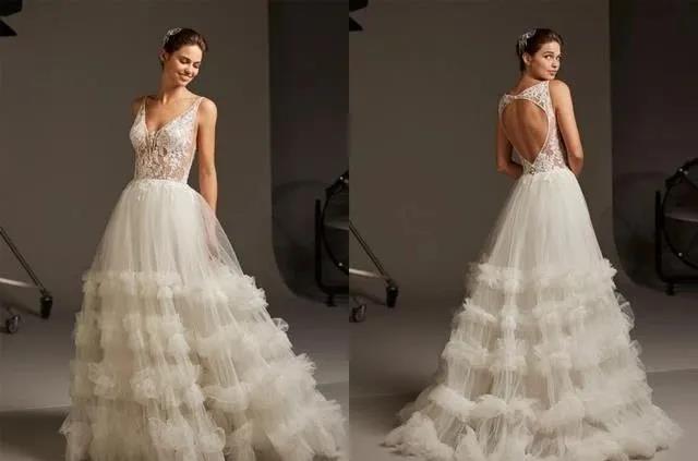 国宝级高定婚纱,西班牙Pronovias 2020系列  第5张