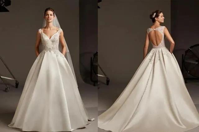国宝级高定婚纱,西班牙Pronovias 2020系列  第6张