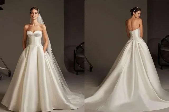 国宝级高定婚纱,西班牙Pronovias 2020系列  第8张