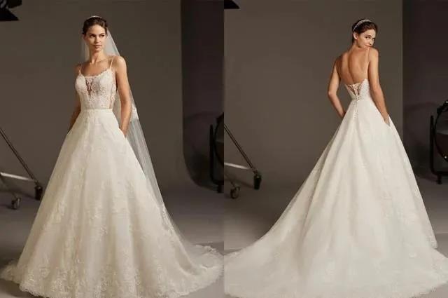 国宝级高定婚纱,西班牙Pronovias 2020系列  第11张