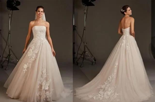 国宝级高定婚纱,西班牙Pronovias 2020系列  第14张