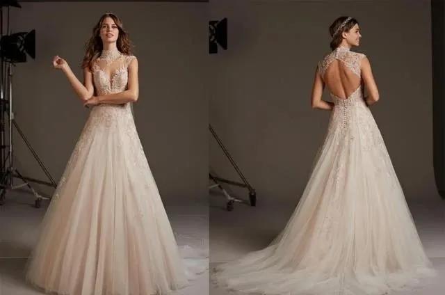 国宝级高定婚纱,西班牙Pronovias 2020系列  第19张
