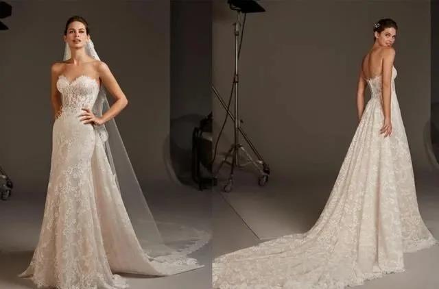 国宝级高定婚纱,西班牙Pronovias 2020系列  第22张