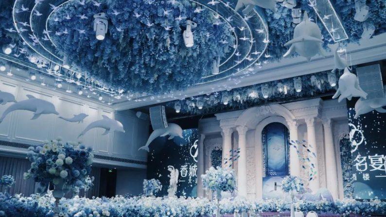 婚礼堂发布:8000平、投资近4千万,咸宁首家艺术级主题宴会厅  第4张