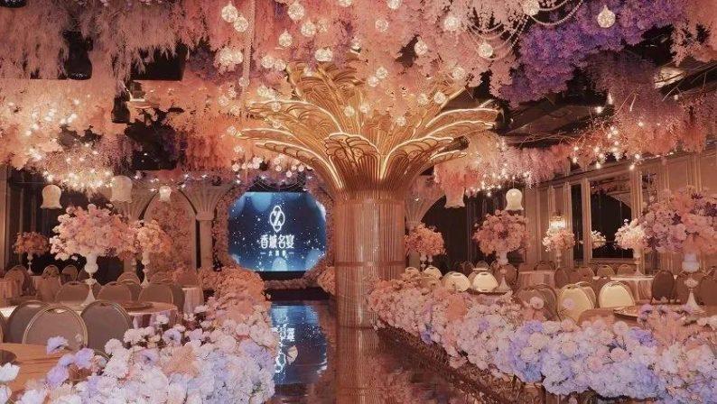 婚礼堂发布:8000平、投资近4千万,咸宁首家艺术级主题宴会厅  第7张