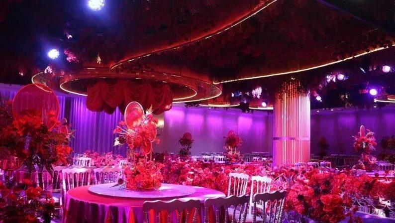 婚礼堂发布:8000平、投资近4千万,咸宁首家艺术级主题宴会厅  第9张