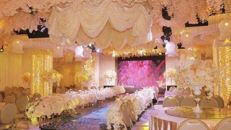 婚礼堂发布:8000平、投资近4千万,咸宁首家艺术级主题宴会厅  第12张