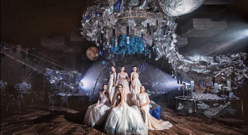 婚礼堂发布:蔡上作品,镇江首家百万级婚礼宴会厅  第2张