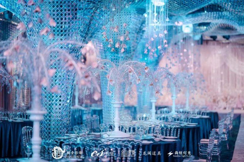 婚礼堂发布:蔡上作品,镇江首家百万级婚礼宴会厅  第4张