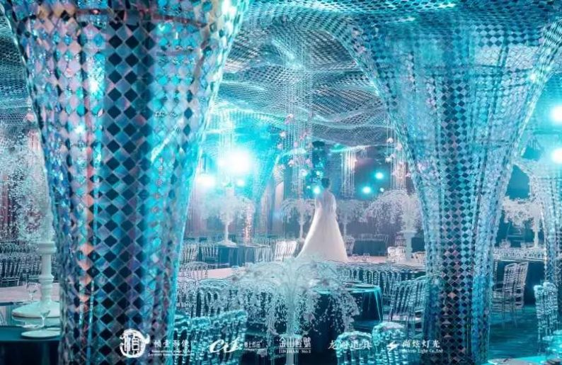 婚礼堂发布:蔡上作品,镇江首家百万级婚礼宴会厅  第7张